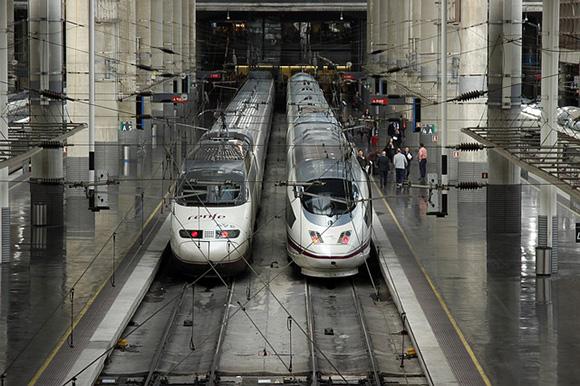El tren EVA Madrid Barcelona entrará en servicio comercial en 2019