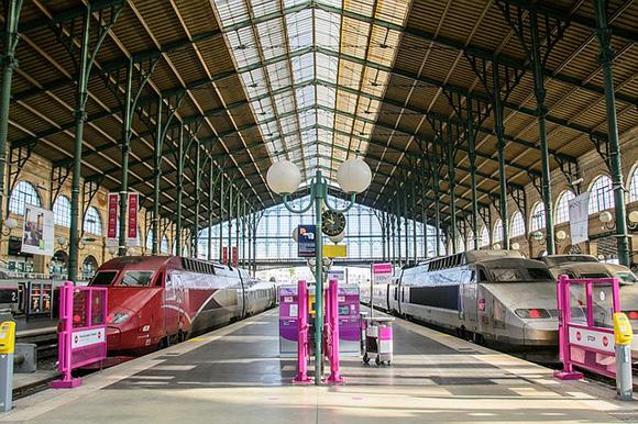 Proyecto de ampliación para 2024 de la estación de AVE de París