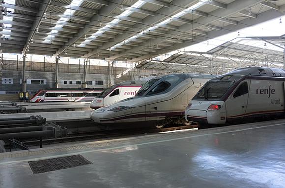 Los trenes AVE en octubre 2018 batieron su récord diario