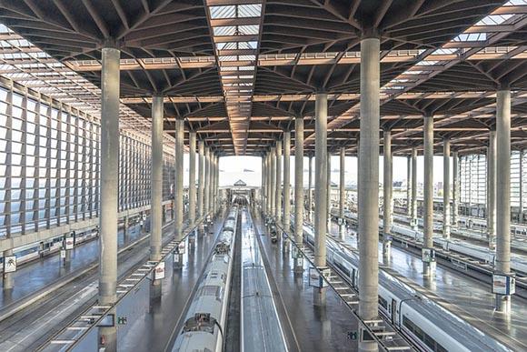 Nuevo récord de viajeros transportados en trenes AVE en 2019