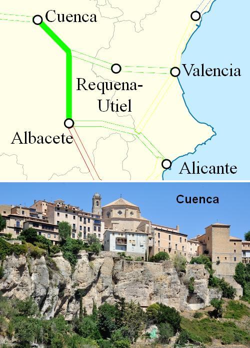 AVE Albacete Cuenca