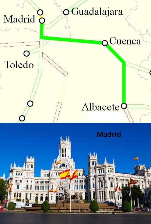 AVE Albacete Madrid