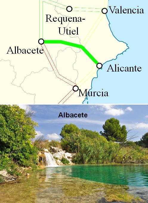 AVE Alicante Albacete
