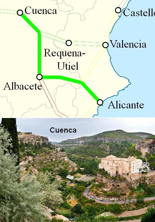 AVE Alicante Cuenca