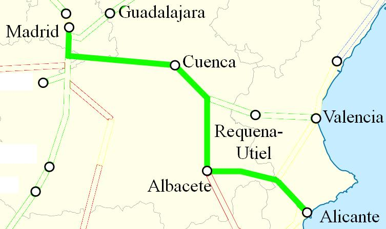 AVE Alicante Madrid