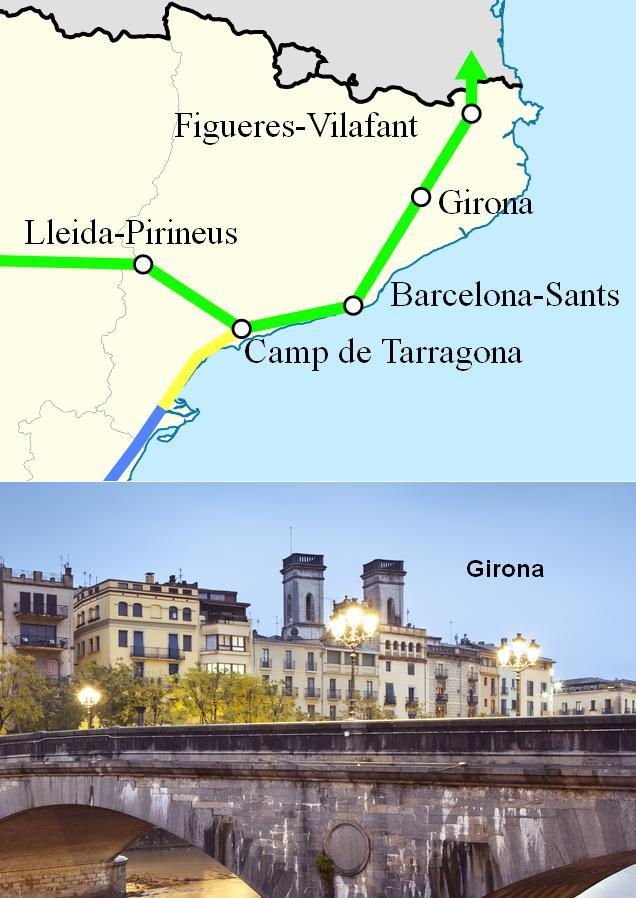 AVE Barcelona Girona