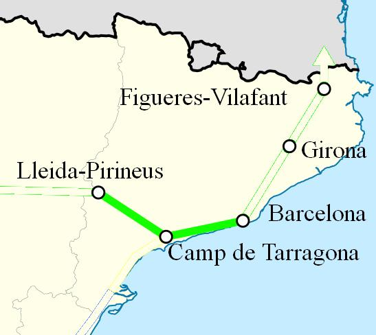 AVE Barcelona Lleida