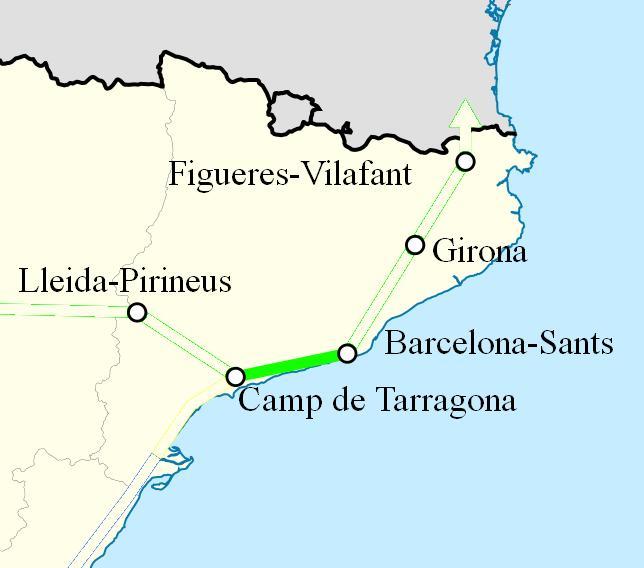 AVE Barcelona Tarragona