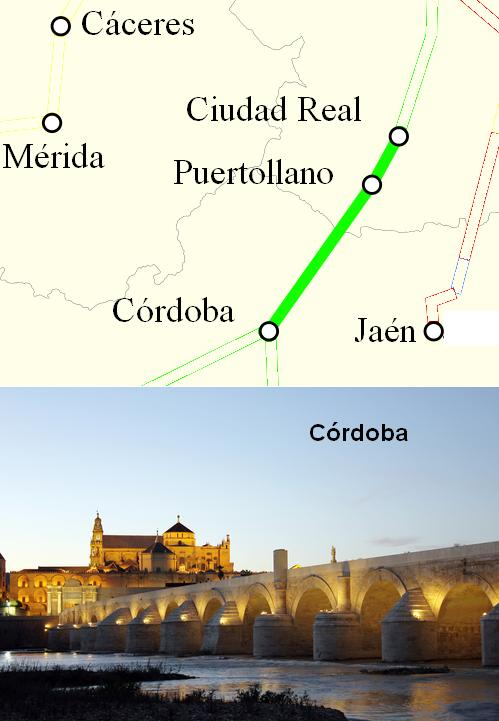 AVE Ciudad Real Cordoba