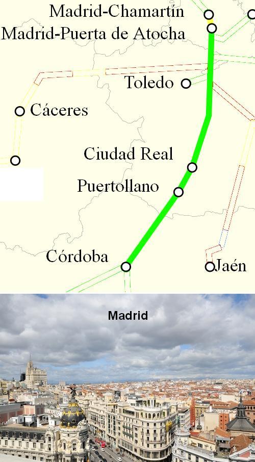 AVE Cordoba Madrid