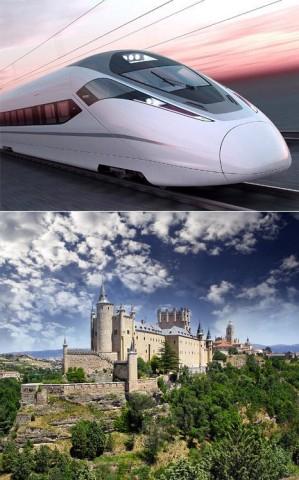 AVE Segovia