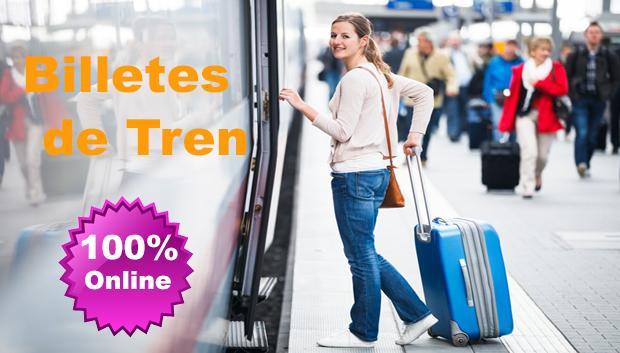 Billetes de Tren Online