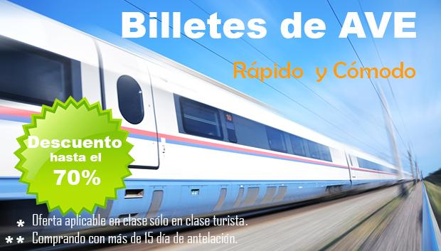 Ofetas Billetes AVE